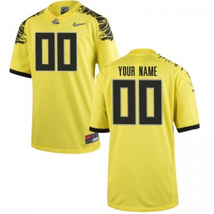 Limited Kids Ducks Customized Jerseys Youth X Large of - Yellow