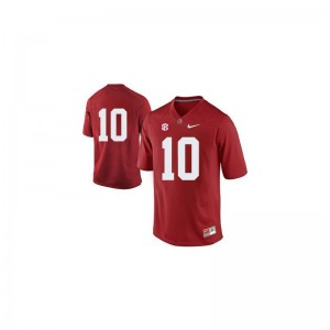Bama AJ McCarron Limited Kids NCAA Jerseys - #10 Red