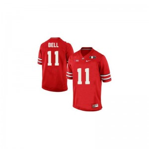 Vonn Bell Youth(Kids) Jerseys Youth Small Ohio State Limited - #11 Red Diamond Quest 2015 Patch