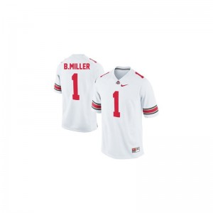 OSU Braxton Miller Jersey Youth Small Youth Limited - #1 White