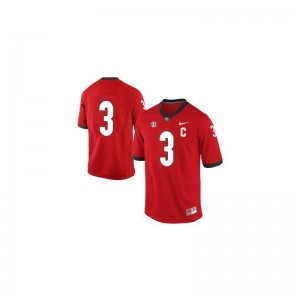 Georgia Bulldogs Todd Gurley Jerseys Youth XL Limited #3 Red For Kids