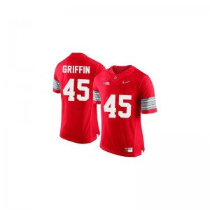 Archie Griffin Ohio State Jerseys Kids Limited #45 Red Diamond Quest Patch