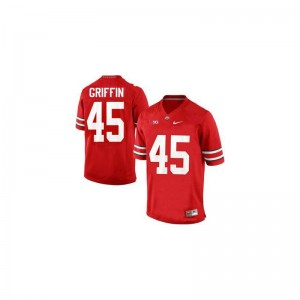 Ohio State Buckeyes Archie Griffin Limited Youth(Kids) Alumni Jerseys - #45 Red