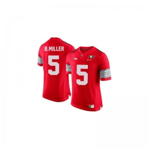 Braxton Miller Kids Jerseys Youth X Large Ohio State Limited - #5 Red Diamond Quest 2015 Patch
