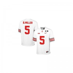 Ohio State Braxton Miller Jersey X Large Kids Limited Jersey X Large - #5 White Diamond Quest 2015 Patch