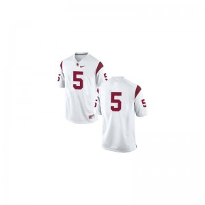 Reggie Bush For Kids #5 White Jersey Youth XL USC Limited