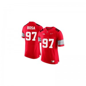 Limited Joey Bosa Jersey XL Youth(Kids) Ohio State Buckeyes - #97 Red Diamond Quest Patch