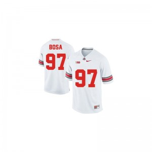 Joey Bosa Youth #97 White Jersey Small Limited Ohio State Buckeyes
